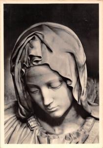 Michelangelo Pieta Kopf der Madonna St. Peter Dom