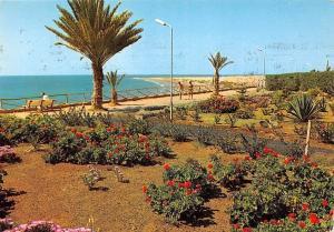Spain Vista Parcial Playa del Ingles Promenade Beach Gran Canaria