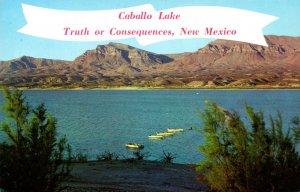 New Mexico Truth Or Consequences Caballo Lake On Rio Grande River