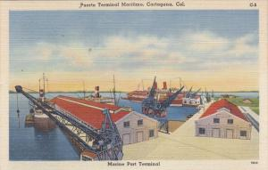 Cartagena , Colombia , 30-40s ; Marine Port Terminal