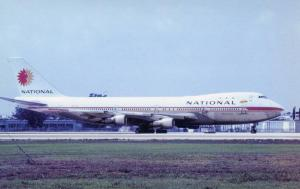 National Airlines - Boeing 747