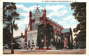 St Mary's Church in Poughkeepsie, New York