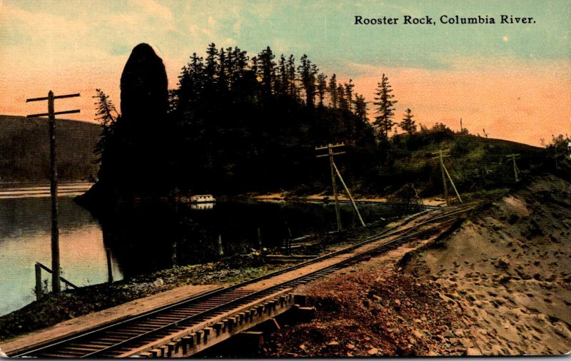 Oregon Columbia River Rooster Rock