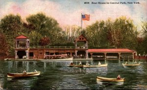 New York City Central Park The Boat House
