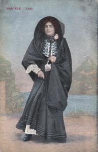 MALTA, 1900-1910´s; Maltese Lady