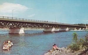 Pont Mgr Langlois, Valleyfield , Quebec ,  Canada , 50-60s