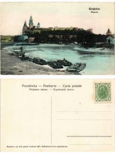 CPA AK KRAKOW Wawel POLAND (288864)