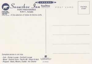 FORT PROVIDENCE , N.W.T. , Canada , 60-80s Snowshoe Inn