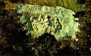 Georgia Atlanta Stone Mountain Memorial Carving