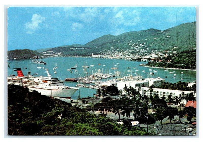 Postcard St Thomas Hotel and Marina, US Virgin Islands T41