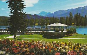 Canada Jasper Park Lodge Swimming Pool Jasper Alberta