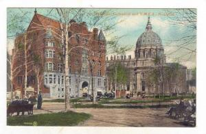 St. Juines' Cathedral & Y.M.C.A., Montreal (Quebec), Canada, 1900-1910s