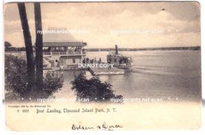 Boat Landing, Thousand Island Park NY