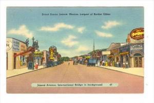 Street Scene, Juarez, Mexico, 1930-40s