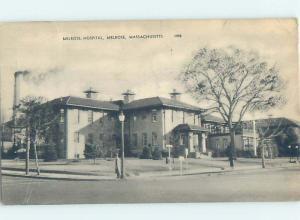 1940's HOSPITAL SCENE Melrose Massachusetts MA W3347