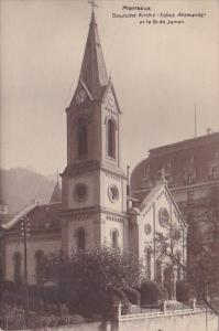 Switzerland Montreux Deutsche Kirche