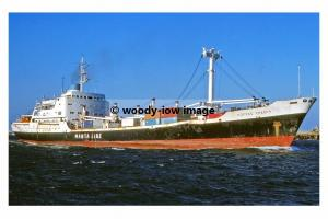 mc4525 - Greek Cargo Ship - Coffee Trader , built 1966 - photo 6x4