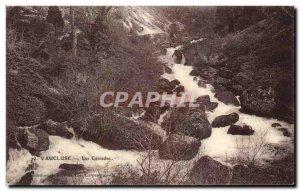 Old Postcard Vaucluse Cascades