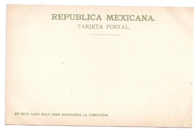 Mexico Vintage Postcard Catedral Cuernavaca J.G. Hatton 1905