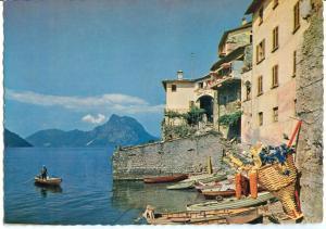 Switzerland, GANDRIA, Lago di Lugano, Postcard