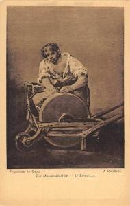 Francisco de Goya, Der Messerschleifer - L'Emouleur, A. koszorus