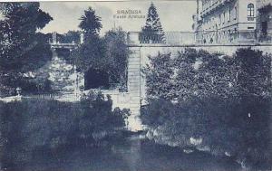 SIRACUSA, Fonte Aretusa, Sicilia, Italy, 00-10s