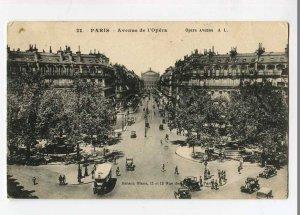 3058622 FRANCE Paris Avenue de l'Opera Vintage PC