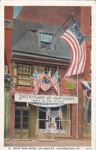 Pennsylvania Philadelphia Betsy Ross House 239 Arch Street 1927