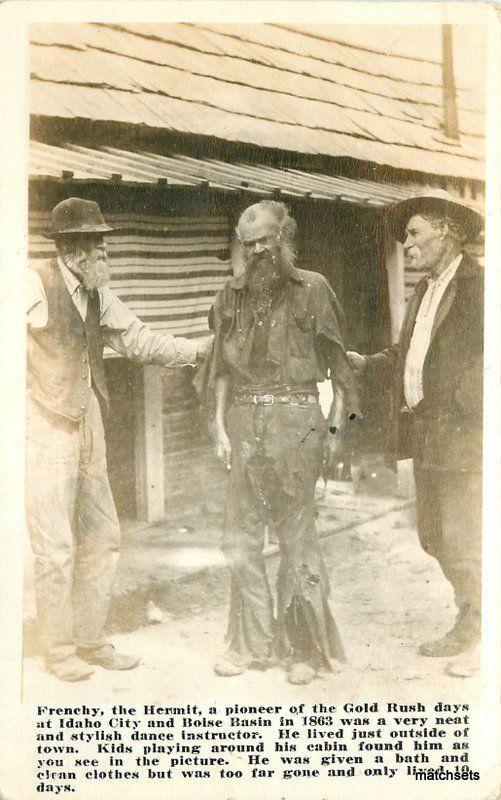 Vintage RPPC Cedric Fire Chief Pine Ridge Arkansas 1930/'s Real Photo Postcard Fireman Uniform Axe Hat Kodak box Black and White Photo.