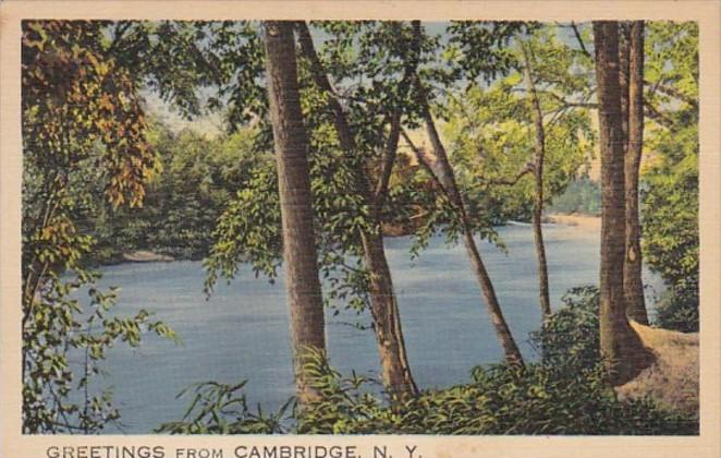 New York Greetings From Cambridge 1941