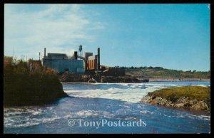 High Tide - Reversing Falls - New Brunswick