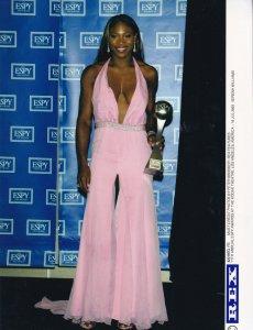 Serena Williams Tennis Sports ESPY Awards Los Angeles 2003 Press Photo