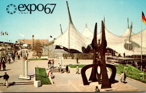 Canada Montreal Expo67 Pavilion Of Federal Republic Of Germany 1967