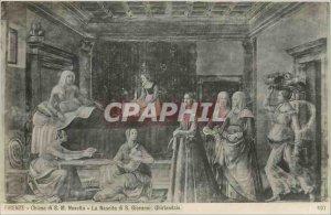 Old Postcard FIRENZE Chiesa di S. Maria Novella