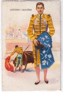 Embroidery - Bull Fighter - Antonio Ordonez