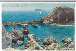 Malta; Ghar Lapsi, Showing Filfla PPC, 1959 PMK To GB