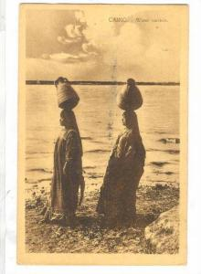 CAIRO.-Female Water Carrier, EGYPT , 00-10s