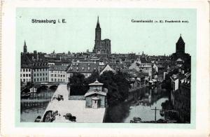 CPA AK STRASSBURG Gesamtansicht (429309)
