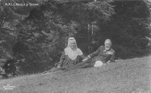 Royalty M.M.L.L. Regele Carol Charles I si Regina Elisabeth of Wied Romania