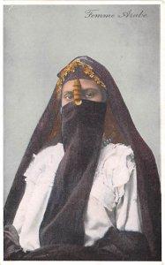 Femme Arabe Egypt, Egypte, Africa Unused
