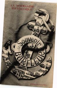CPA BARFLEUR - carte de Souvenir (149174)