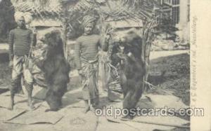Circus Postcard Post Card J&G Hagenbeck's ind Ausstellung  J&G Hagenbeck's in...