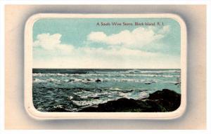 20337  RI  Block Island  A south West storm