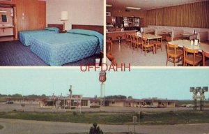 Q - MOTEL AND RESTAURANT, QUINTER, KS. Jimmy and Evelyn Graham