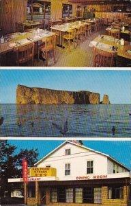 Canada Biards Restaurant Perce Quebec  1974