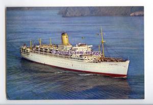 LN0852 - P&O Liner - Himalaya , built 1949 - postcard