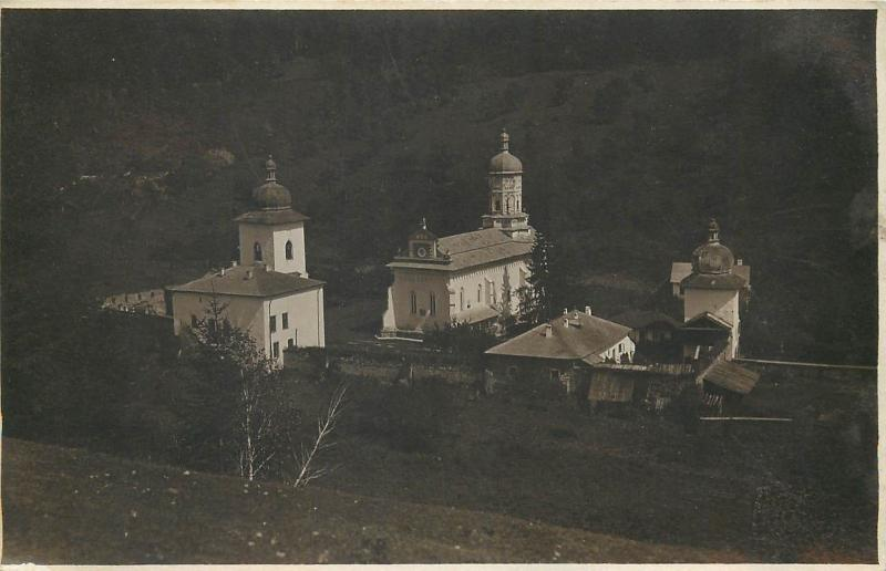 Romania Royal Photographer Ad. A. Chevallier - Bistrita Monastery photo postcard