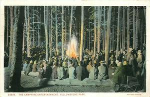 WY, Yellowstone National Park, Wyoming, Campfire Entertainment, J.E. Hanes