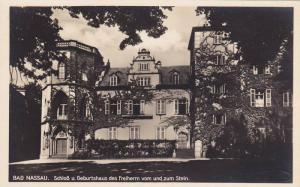 RP, Schloss U. Geburtshaus Des Freiherrn Vom Und Zum Stein, Bad Nassau (Rhine...