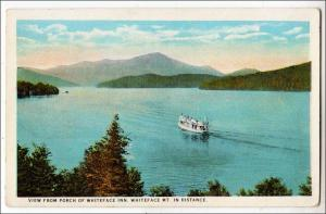 View from Whiteface Inn, Adirondacks of NY